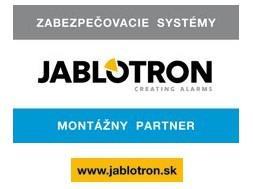 logo montážneho partnera Jablotron